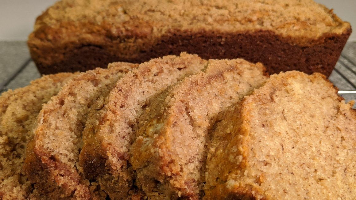 Banana Crumb Bread