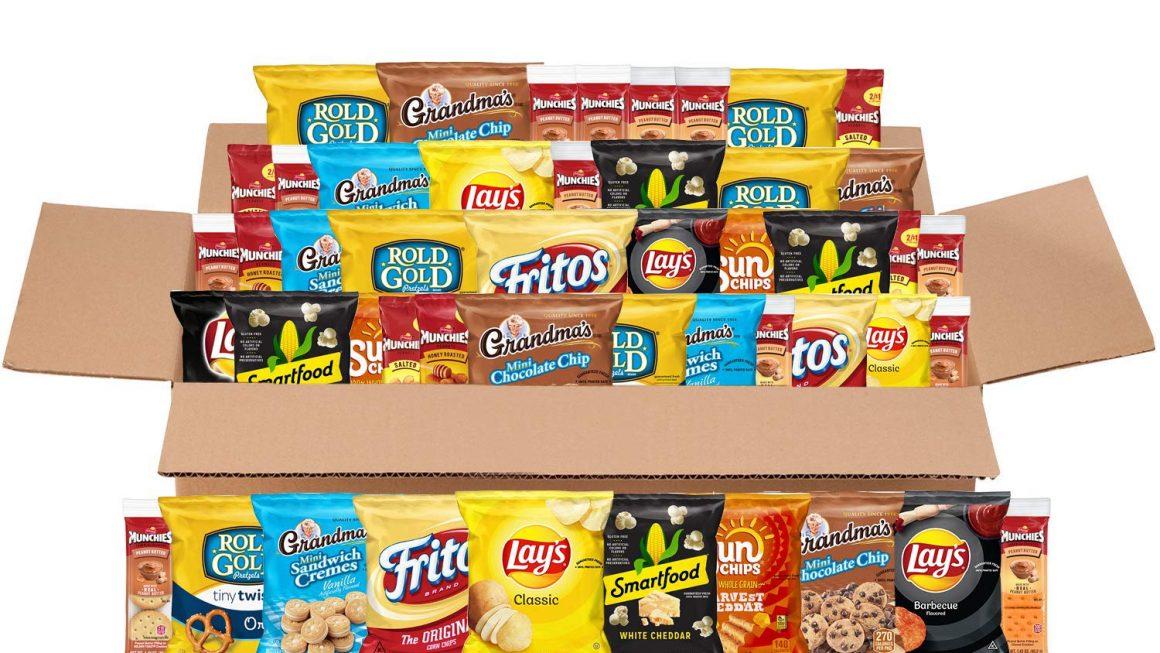 Expired:Frito lay Sweet & Salty Snacks Variety Box
