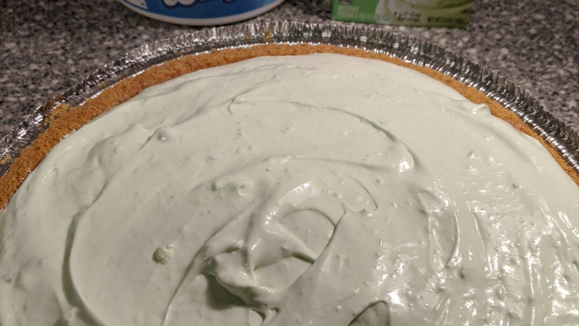 Pistachio Cream Cheese Pie