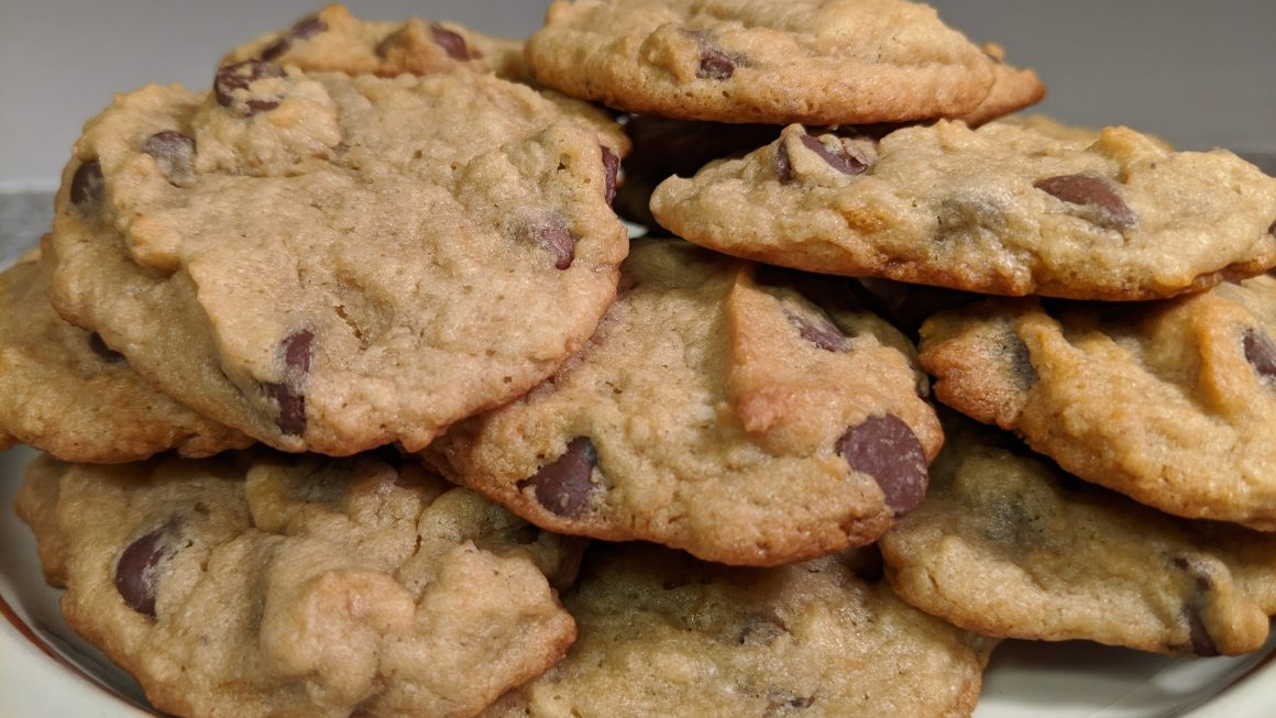 Banana Chip Cookies