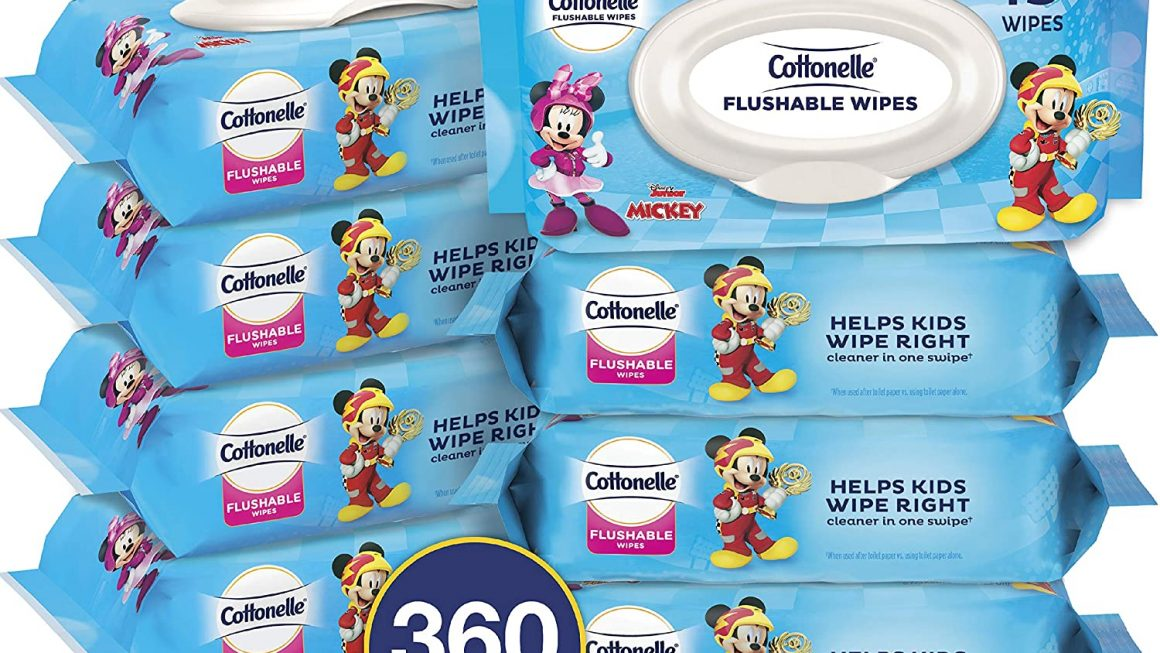 Expired:Cottonelle Flushable Toddler Wipes