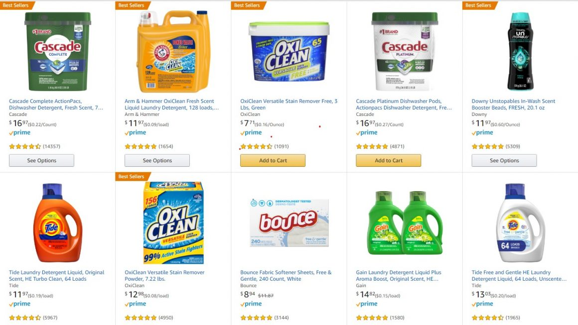 Expired: Amazon Promo, Buy 3 save $10 on Household Supplies