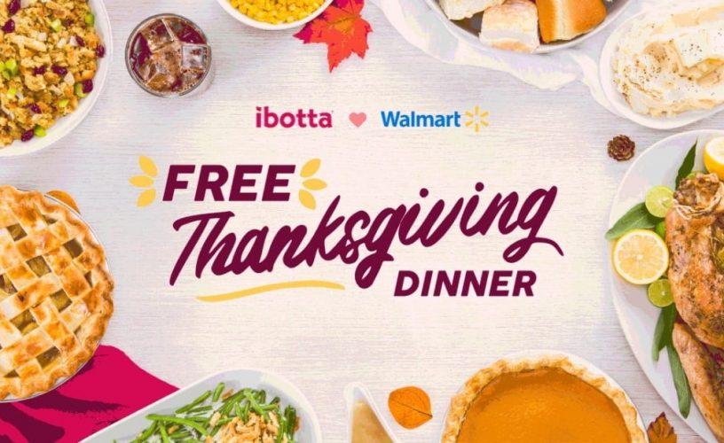 Free Turkey Dinner from Ibotta and Walmart