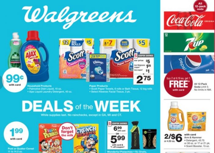 Expired: Walgreens Laundry Soap Sale