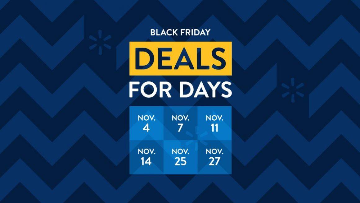 Expired:Walmart Black Friday Nov. 8th-15th 2020