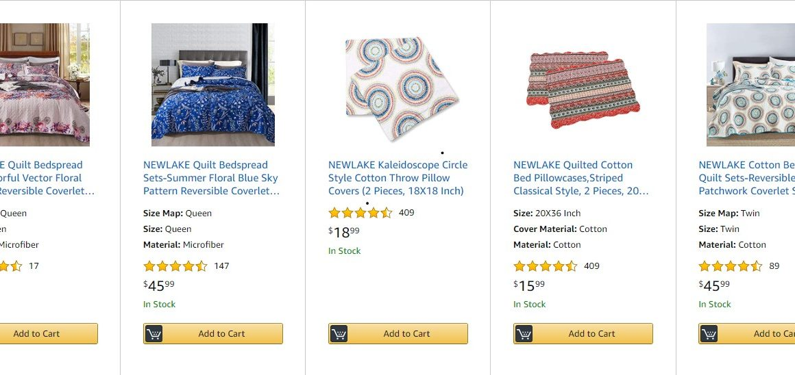 Expired: Amazon Bedding Sale