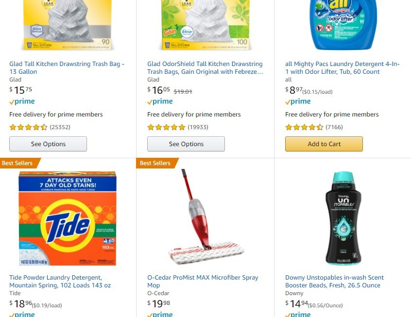 Buy 3, Save $10 Household Essentials