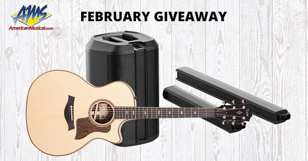 Expired: Taylor Guitar Giveaway