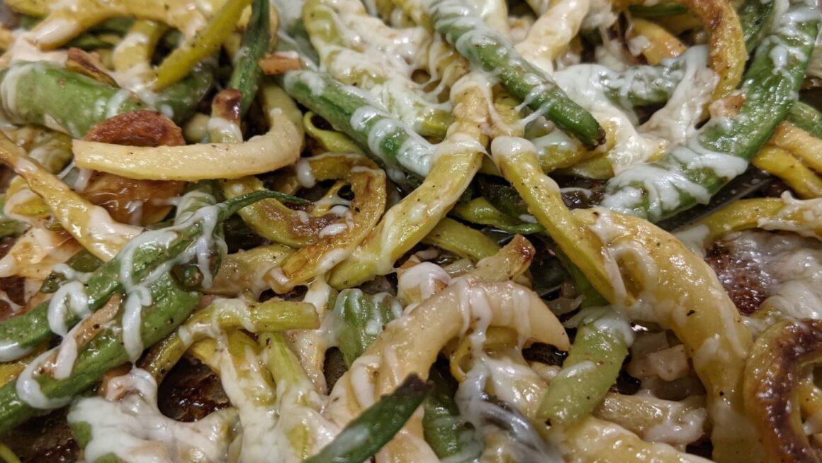 Pan-Fried Garlic Green Beans